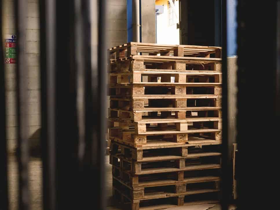 Wie viel Holz hat eine Europalette