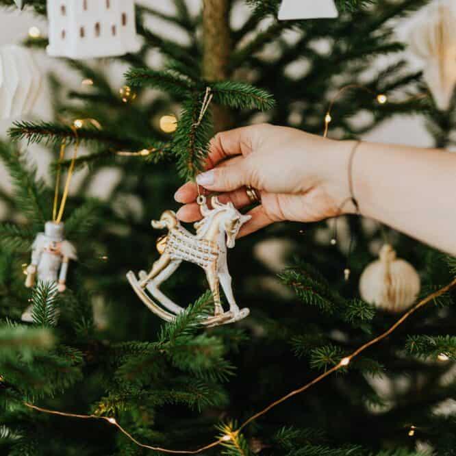 Wie lange Weihnachtsbaum stehen lassen?